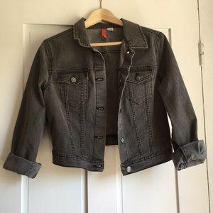Gray Jean Jacket NWOT H&M